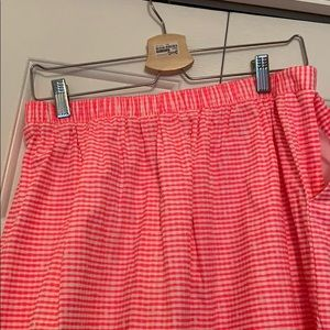Lilly Pulitzer Skirts - Neon Pink scalloped skirt